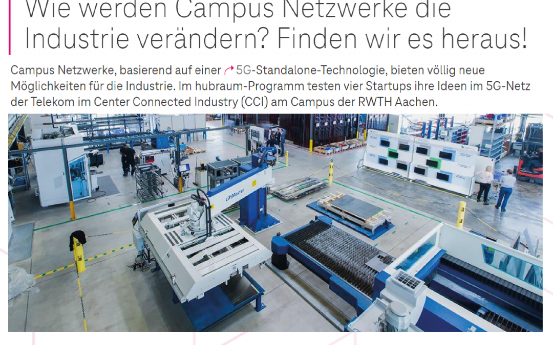 Blog.Telekom: How will campus networks change the industry?