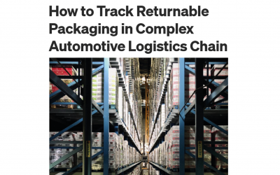 How to track returnable packaging in complex automotive logistics chain