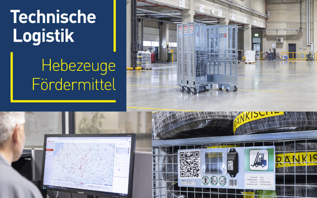 Technische Logistik: Fega & Schmitt rely on the smart parcel roll containers from Wanzl